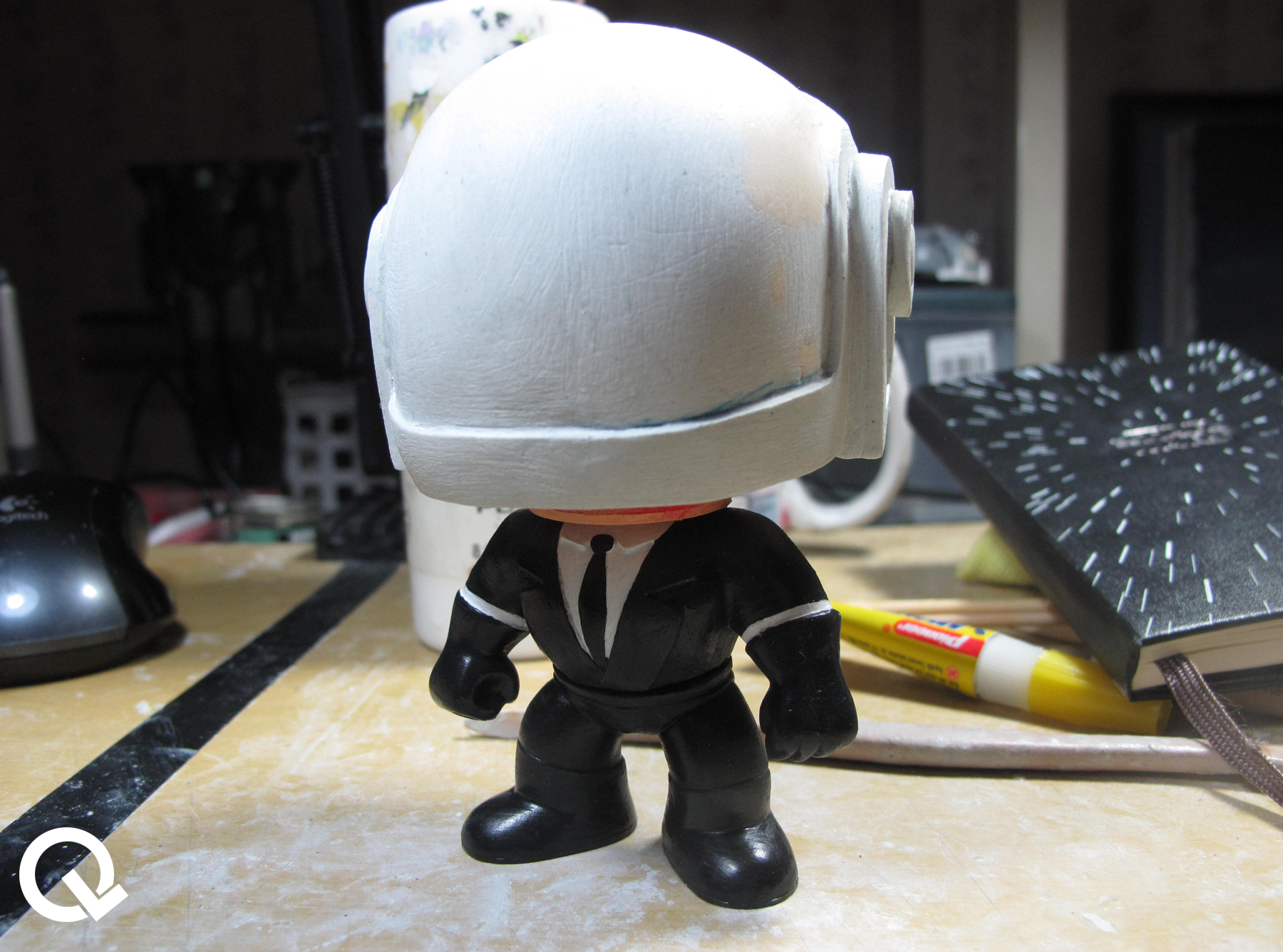 Daft Punk Toy Custom Funko Pop Quarklit